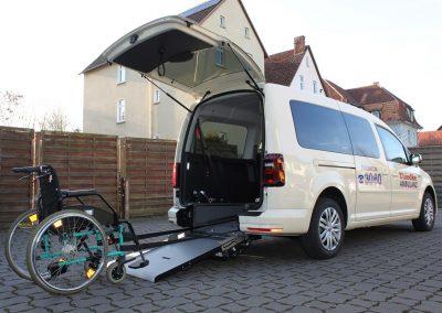 Rollstuhl-Taxi